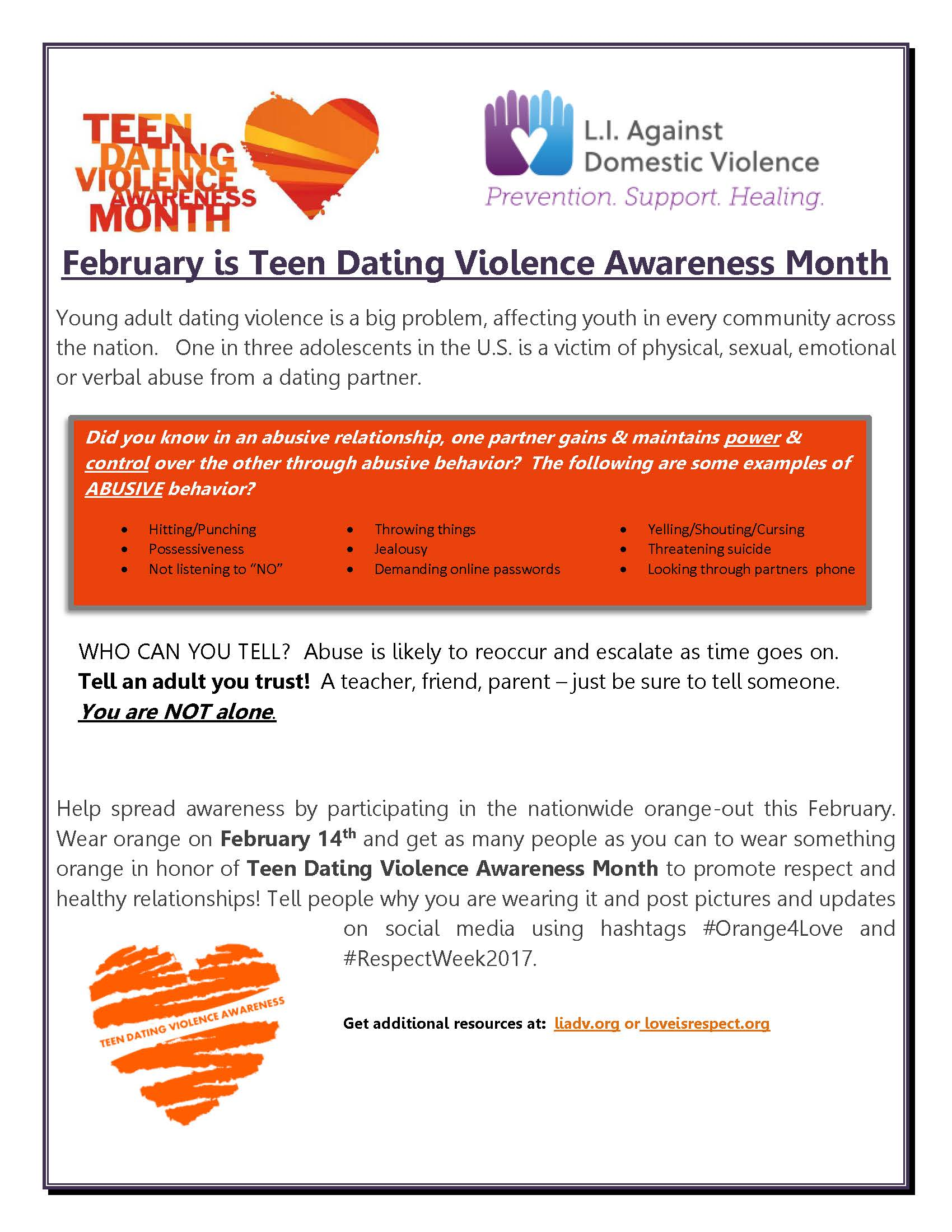 Teen dating violence statistics in ny