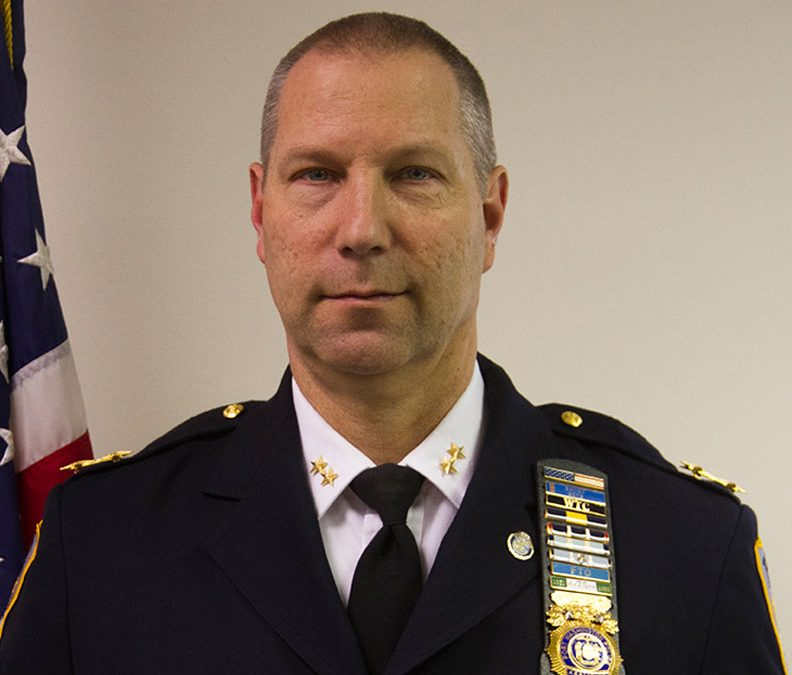 Assistant Chief Jeffrey Morris Retires